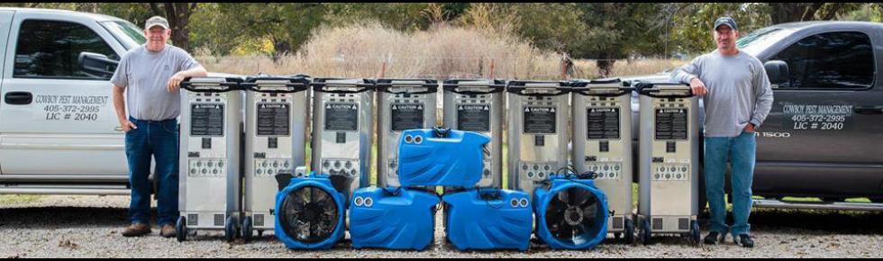 boy Pest Management Trucks, Heaters & Fans For Bed Bug Heat Treatment